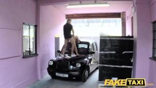 Fake Taxi John gets a good taxi arse rimming