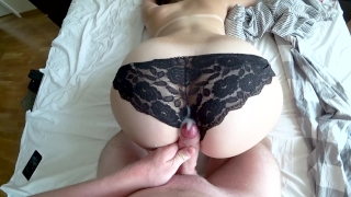I love to wake up from dick in my pussy Arab boobs