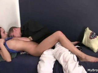 Cheating GF takes it hard from behind