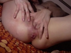 Horny and wide open (dp, fist, big dildo, double-vaginal etc)