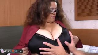 AgedLovE Latina Chubby Granny Fucking