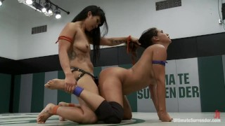 Orgasm On The Mat!