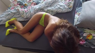 Passionate claudia class holiday sex behind sex