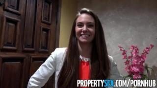 PropertySex Real estate agent fucks film producer client