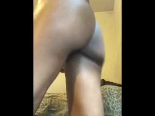 Wet tight pussy on a vibrator