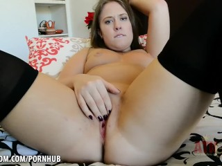 Naughty School Girl Brooke loves to touch herself