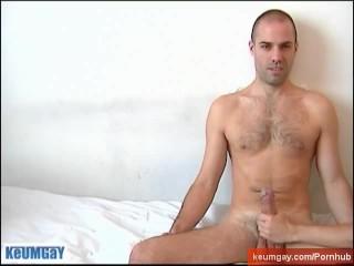 Hamal's huge cock gets wankd in spite of him