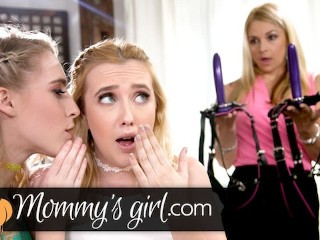 Stepmom DP 'd by Naughty Squirting Daughters!