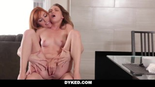 Dyked - Petite Teen Fucked By Her Horny StepMom  ginger angel smalls redhead femdom cunnlingus lesbo dyked teamskeet petite fingering stepmom big boobs female domination natural tits girl on girl girl girl lauren philips
