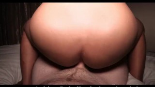 Hoops Dickgirl Cums While Creampied