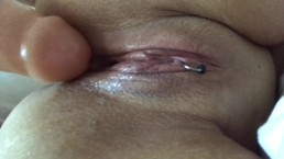 My wet pussy and my dildo
