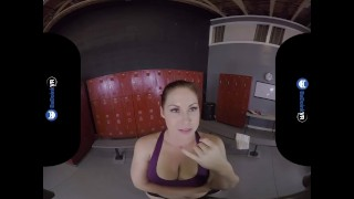 On locker vr girls into sneaking badoinkvr porn room thick doggystyle