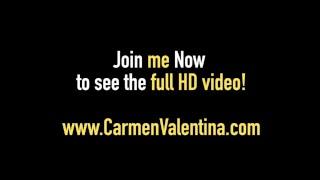 Party Animal Carmen Valentina Has Hang Over 3 Way Fuck Fest!