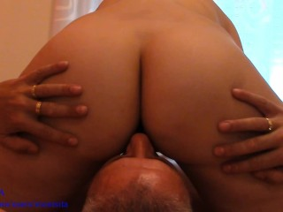 Facesitting – Pussy Licking. Female perspective POV – MONTSITA