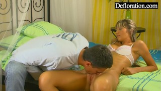 On blonde hungry the is hard guy young blowjob