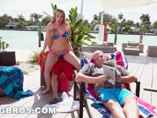 BANGBROS - Don't Tell Grandpa PAWG Harley Jade Is Getting Anal (ap15970)