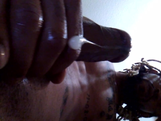 Stroking it like im in the pussy...(Prettywettblack's request)