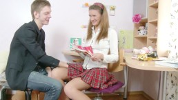 Schoolgirl gets a D for effort