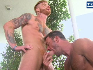 Parole: Featuring Bennett Anthony and Anthony London - Outdoor Rimming