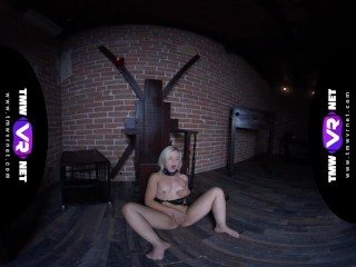 TmwVRnet.com -Anna Rey- Kinky blonde shows her tight body before BDSM sess