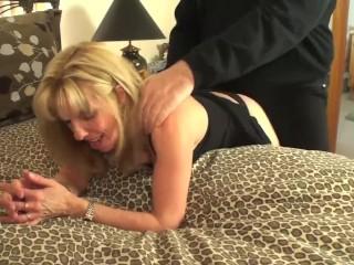 Mature Blonde Sucks & Fucks A Pornhub Fan