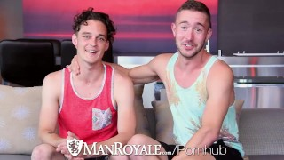 ManRoyale Newly intimate fuck and facial with Kip and Colt Rivers