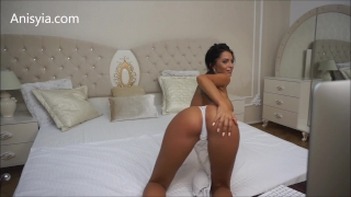 Stretching anisyia livejasmin hardcore fuck pussy machine penetration lingerie jenner