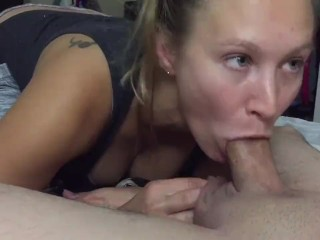 iPhone 1080p 60 FPS – Amateur wife bedroom Blowjob