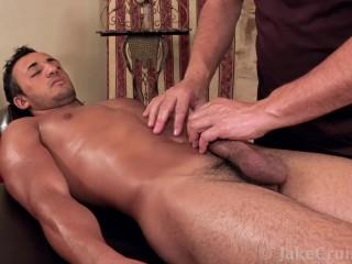 Ali Massaged by Jake Cruise