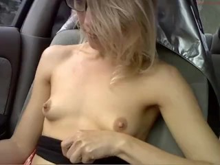 CamGirl driving in the car coconut_girl1991_030916 chaturbate REC