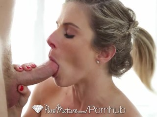 PureMature MILF Cory Chase fuck and facial after run in the park