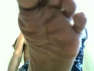 Wife Turns Husband into Foot Slave