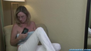 Jodi West in Mother's Special Massage Busty rough