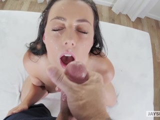 Whitney Wright First Time POV Blowjob