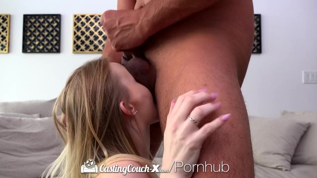 CastingCouch X Amateur Lanna Carter fucks agent in first film 12