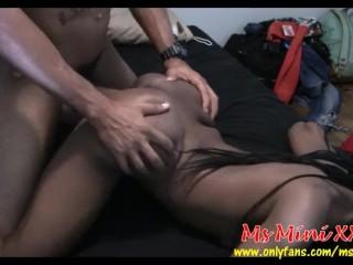 Ebony Thot Teen Ms Mini Doggystyle