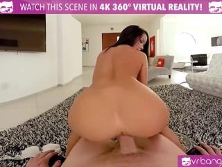 VR Bangers-My Naughty Sexy Teen Girlfriend Megan Rain Ride's My Cock