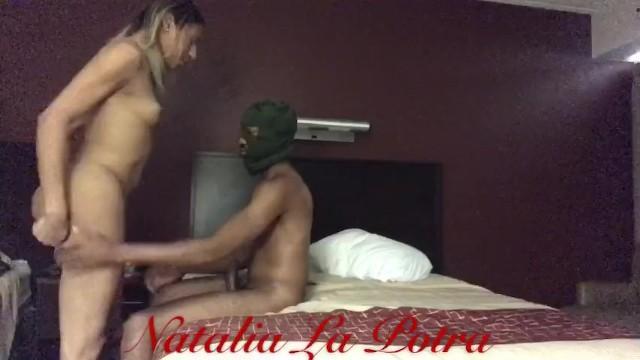 Natalia La Potra & Masked guy 6
