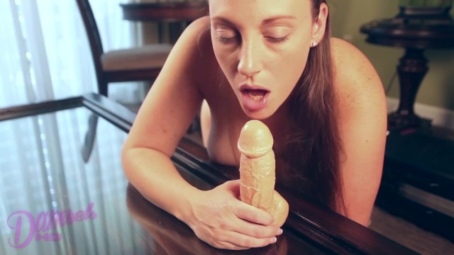 Get humiliated by an ejaculating dildo 6