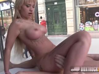 Hot Alexis Bardot fucks the model agent