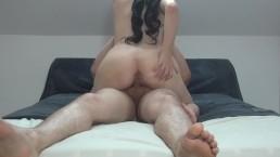 Homemade - Sexy Cowgirl riding Cock