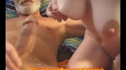 Teen TITTY MILK for the OLD MAN