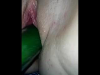 Cucumber fuck.