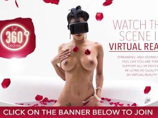 VR Bangers-BRIDGETTE B SEXY MOM HAVING SEX WITH THE POOL BOY