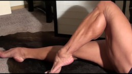 FBB Latia Del Riviero has Killer Calves to Die For