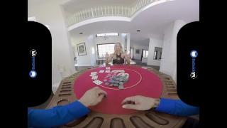BaDoink VR Great Poker Risk With Olivia Austin VR Porn