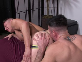 ActiveDuty Army Bro Slammed in Raw Hole