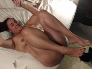 Behind the scenes: Milf Becky before the shoot