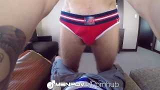 MenPOV Fuck in POV with Kylar and Christian Taylor