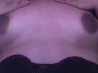 Vannya...Playing with my tits